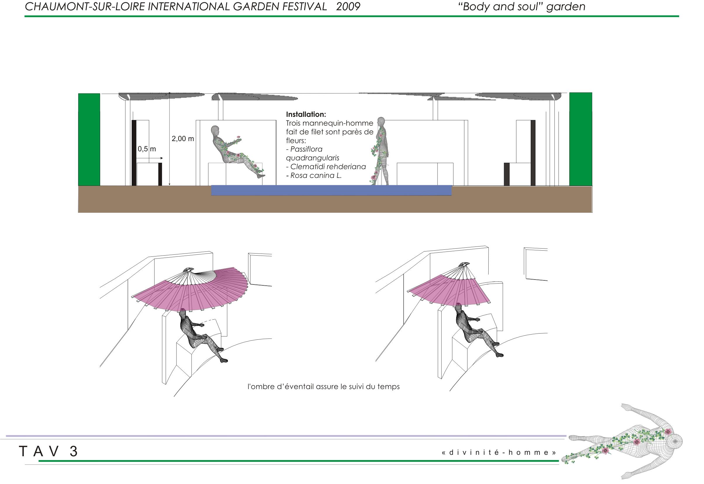 Concept for Festival International Des Jardins  | Domaine de Chaumont sur Loire